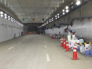 Pintado interior túneles